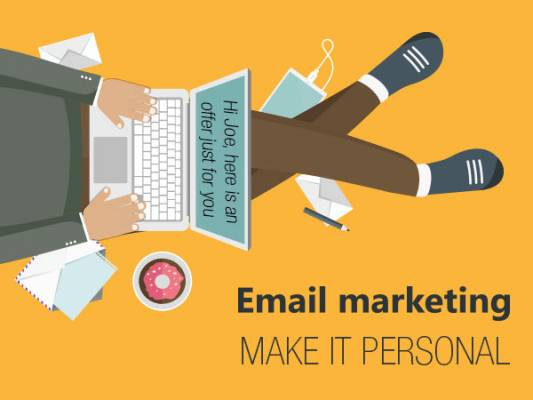 Make your email marketing personal!