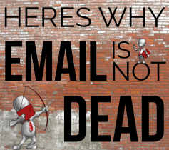 IS EMAIL MARKETING DEAD? THE ANSWER IS NO!