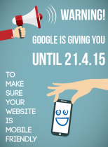 Get mobile responsive by 21.4.15 or miss out on GOOGLE TRAFFIC!