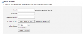 How to set up a domain orientated email address on your cPanel