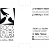 RPS Coaching Business Cards