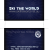 Ski The World Business Cards
